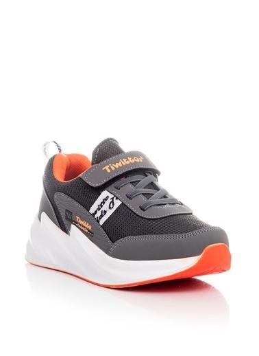 Tonny Black Füme Oranj Çocuk Spor Ayakkabı Tbz11  Tbz11-3_247 Füme